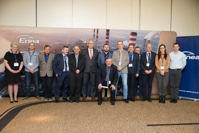 Kadra techniczna Enei na konferencji w Kazimierzu Dolnym.