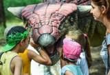 Dzień pełen wrażeń w otoczeniu dinozaurów [zdjęcia]