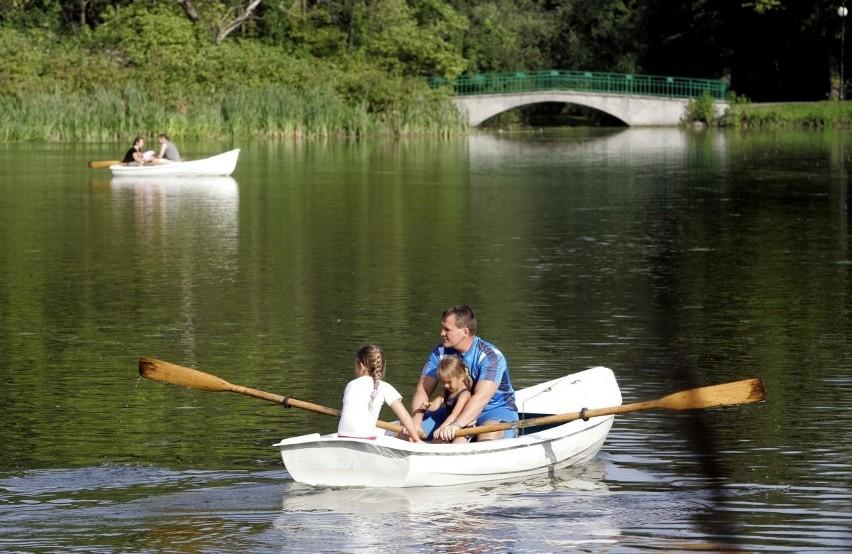 Czy łódki wrócą kiedyś na staw w parku Sołackim?
