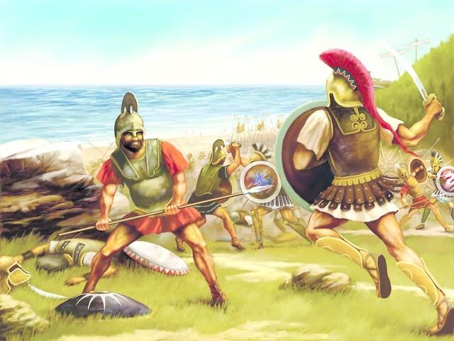 Wciel się w greckiego hoplitę