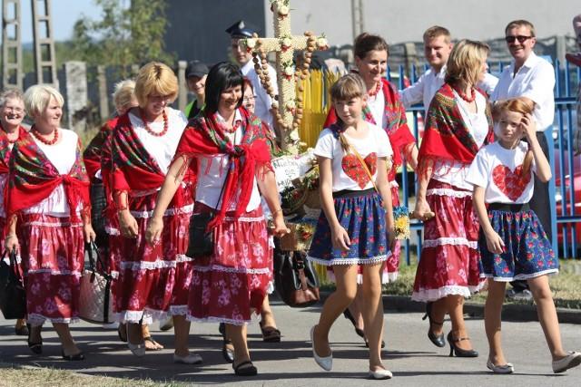Dożynki województwa śląskiego 2015 w Żarnowcu