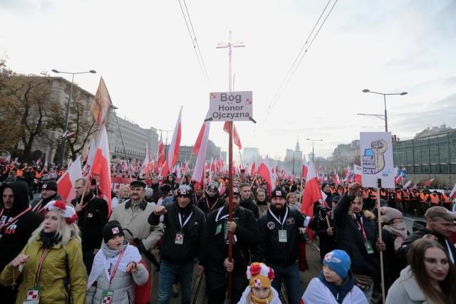 Marsz Niepodległości w nowej formie. Podano trasę wydarzenia