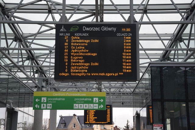 Miejski Zakład Komunikacji w Zielonej Górze od 1 marca br. wprowadza zmiany w rozkładzie jazdy
