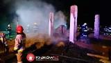 Pożar w Kamieniu pod Krakowem. Zginęła jedna osoba [KRÓTKO]