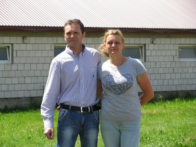 Joanna i Wojciech Bindzio trzy lata temu wybudowali nową chlewnię