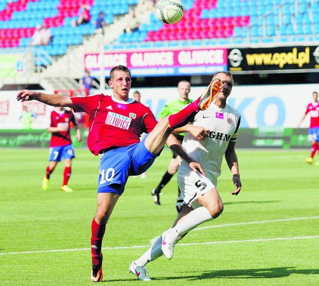 W meczu ligowym Piast wygrał z Zagłębiem 2:1. Wczoraj było 0:0