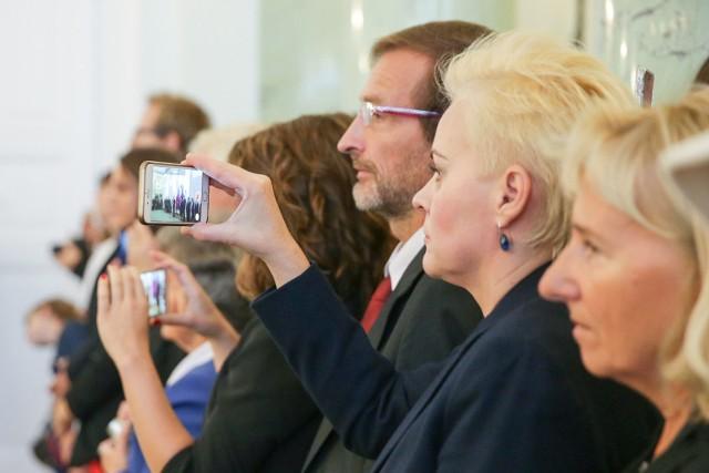 Prezydent Polski Andrzej Duda wręczył nominacje profesorskie