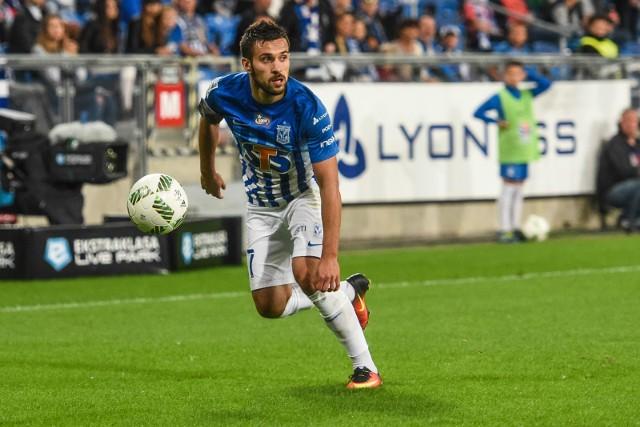 Maciej Makuszewski po meczu z Legią był wyraźnie zawiedziony