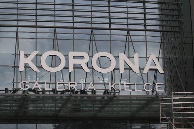 W Galerii Korona Kielce przeprowadzane są już próby sygnalizacji alarmowej. Fot. Łukasz Zarzycki