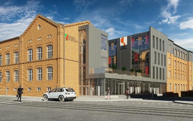 Kwartał Kultury będzie mieścił się w budynkach przy ulicach: Szkolnej i Warszawskiej.