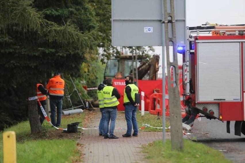 Wybuch na placu budowy przy M1 w Czeladzi zabił pracownika i ranił trzech innych. Zobacz kolejne zdjęcia. Przesuwaj zdjęcia w prawo - naciśnij strzałkę lub przycisk NASTĘPNE