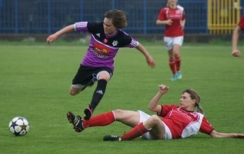 Ewa Pajor była motorem napędowym koninianek w wyjazdowym meczu z GOSiR Piaseczno