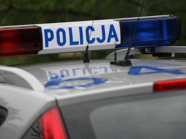 Na ulicy Staszica w Bytowie policjanci skontrolowali rowerzystę.