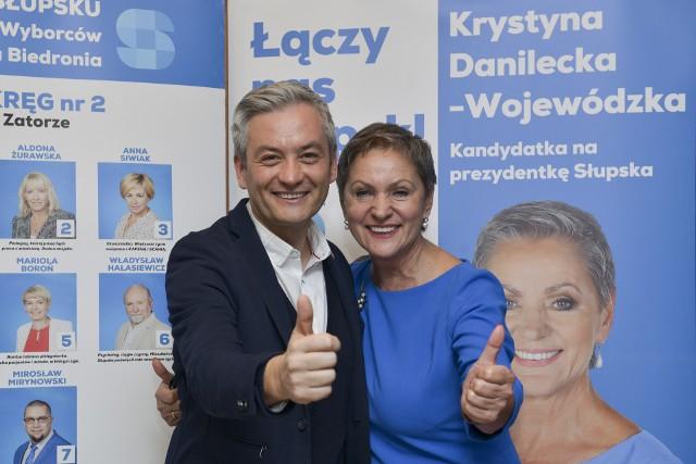 Wyniki wyborów samorządowych 2018 na prezydenta Słupska. Krystyna Danilecka-Wojewódzka prezydentem Słupska [oficjalne wyniki PKW]