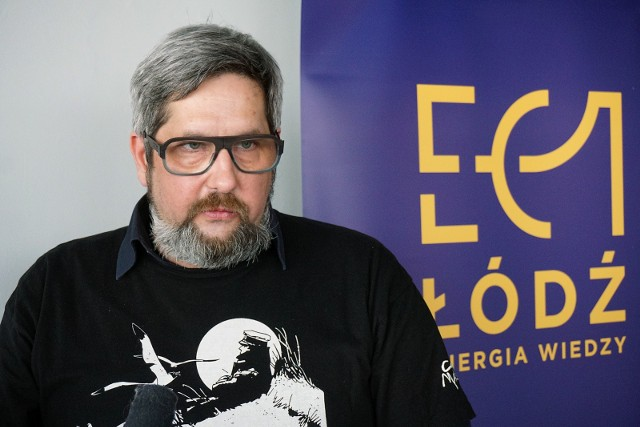 Adam Radoń, kierownik Wydziału Komiksu i Narracji Interaktywnej EC1 Łódź