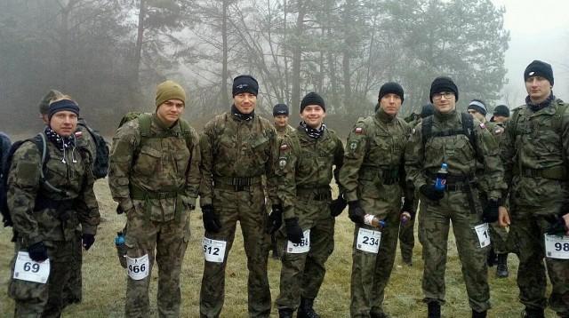 W biegu wystartowało sześciu żołnierzy międzyrzecko-wędrzyńskiej brygady.
