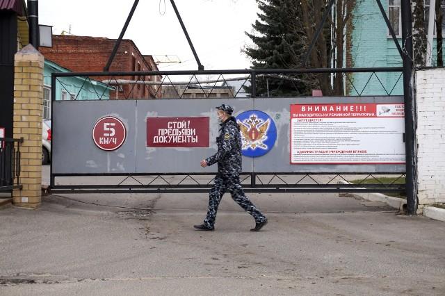 Szpital dla więźniów we Włodzimierzu, do którego przewieziono Aleksieja Nawalnego