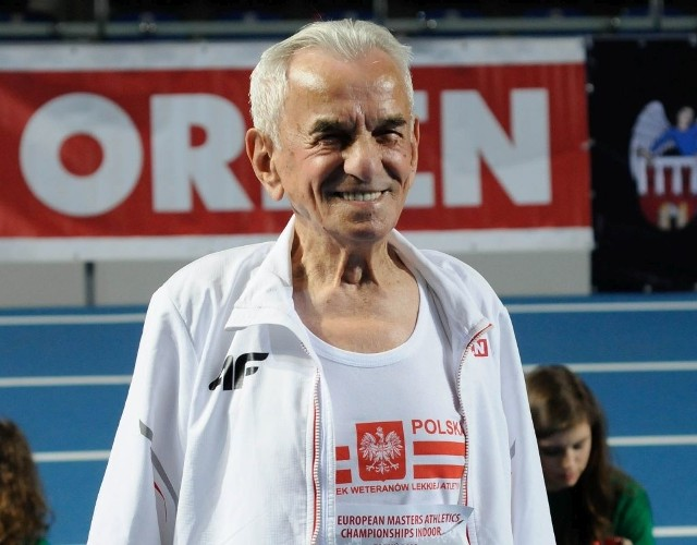 Uśmiech nie znika z twarzy pana Stanisława.