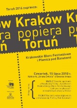 Kraków popiera Toruń - Kulturalny pitbull i subtelny bard