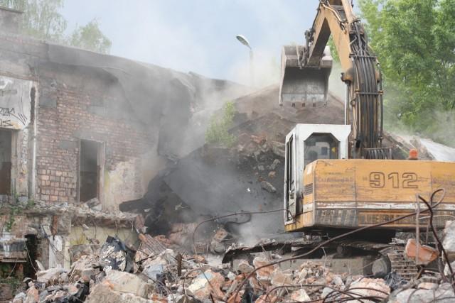 W Sosnowcu wyburzają dworzec kolejowy w Dańdówce