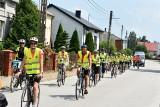 Przez Rusinów koło Przysuchy przejeżdżała pielgrzymka rowerowa z Radomia do Częstochowy