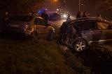 Groźny wypadek w Zebrzydowicach: Pijany jastrzębianin za kółkiem [ZDJĘCIA]