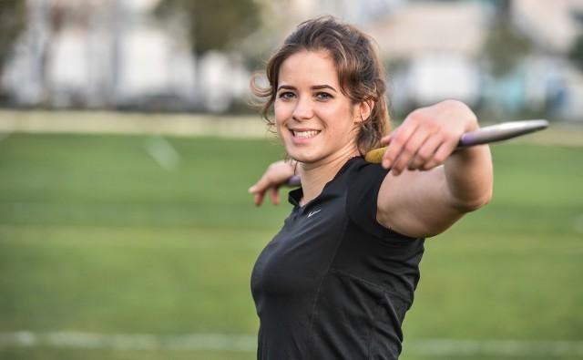 Maria Andrejczyk, srebrna medalistka igrzysk w Tokio, będzie jedną z gwiazd LOTTO Silesia Memoriału Kamili Skolimowskiej