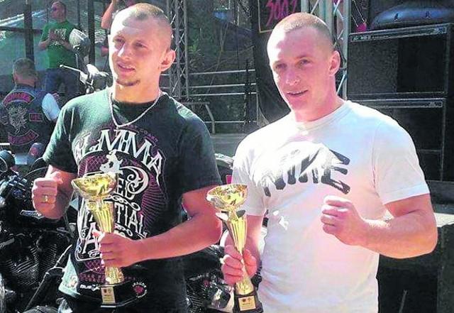 Gerard Bąk i Artur Krawczyk dobrze zaprezentowali się w Sulejowie