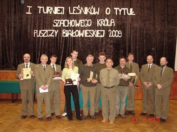 I Turniej Szachowy Leśników I Turniej Szachowy Leśników