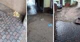 Pan Piotr z Bytowa przed domem ciągle ma wodę. Co na to władze? Jest odpowiedź miasta