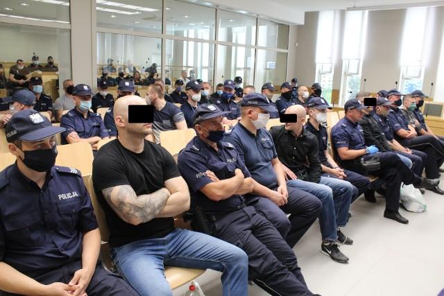 Oskarżeni kibole Cracovii przed sądem