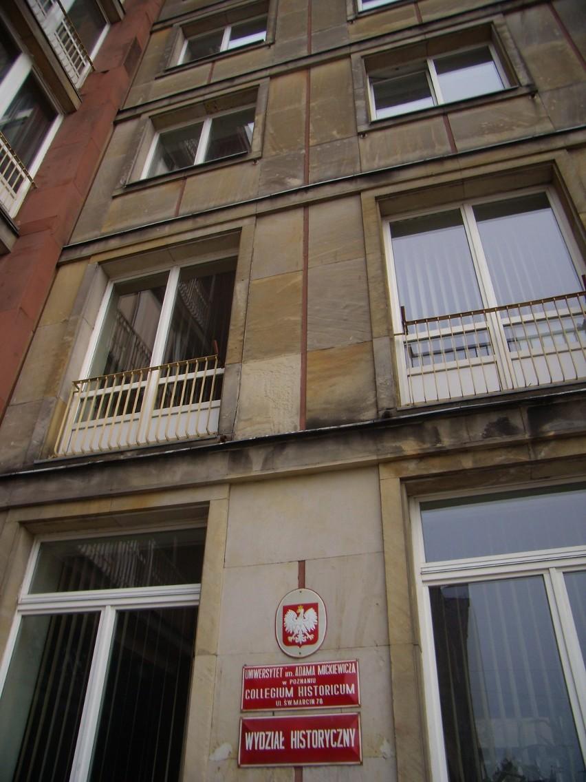 UAM wycofał się z planu sprzedaży Collegium Historicum przy ul. Św. Marcin.