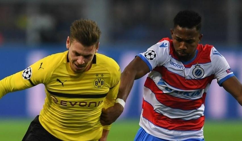 Na zdjęciu: Łukasz Piszczek (z lewej). Mecz AS Monaco -...