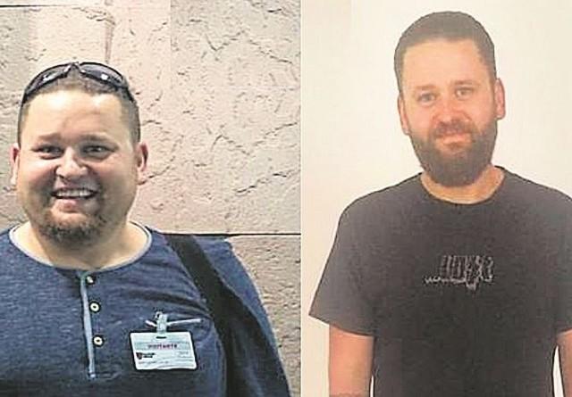 Alek Piekarski schudł 40 kilogramów. Na zdjęciach - przed i po