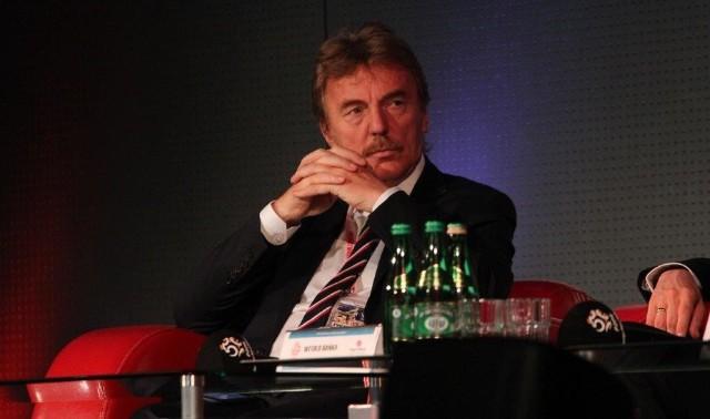 Prezes Zbigniew Boniek na Konferencji Bezpieczny Stadion w Kielcach