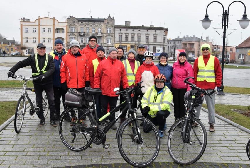 W wycieczce rowerowej udział wzięło 16. rowerzystów