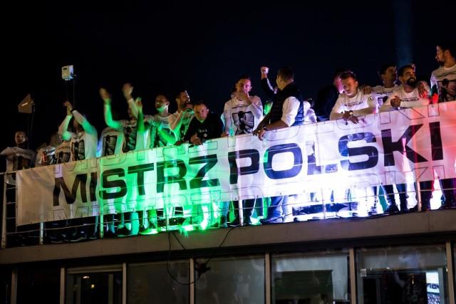 Legia będzie świętować z kibicami 16 maja