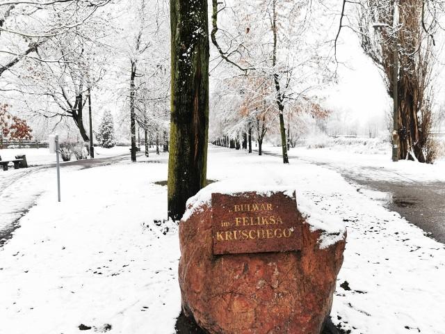 Zima Pabianice styczeń 2021 r.