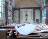 Wielki dzień w kościele w Jaśkowicach. Pierwsze nabożeństwo od pożaru w styczniu 2013 r.