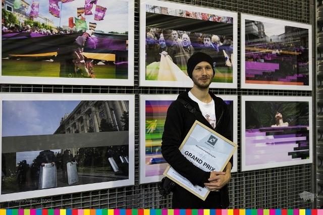 Wręczenie nagród w konkursie Grand Prix w ramach Międzynarodowego Festiwalu Fotografii Białystok INTERPHOTO.