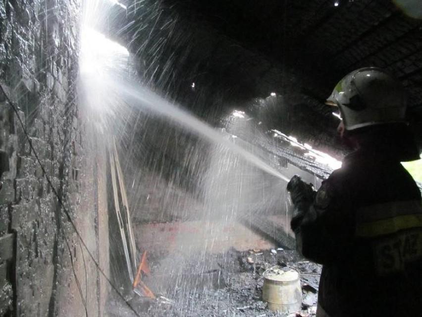 W pożarze w Zabrzu zginął mężczyzna. Jego zwęglone ciało znaleźli strażacy