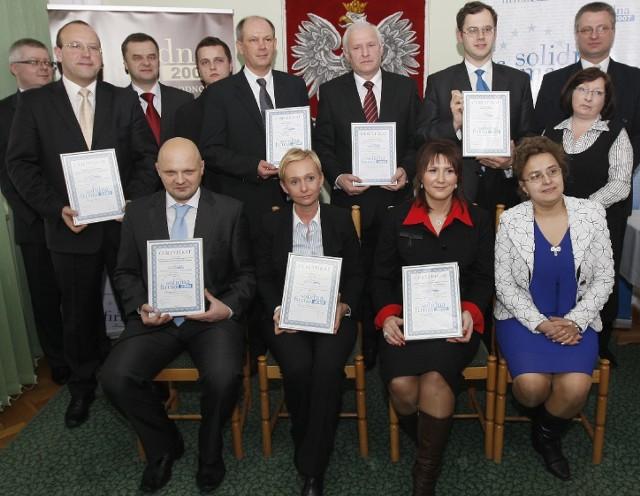 """Z naszego regionu certyfikaty """"Solidna firma"""" otrzymało 7 firm. Fot. Krzysztof Kapica"""