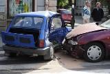 Maluch do kasacji i ranny w wypadku kierowca (zdjęcia)