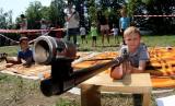 Wspólna zabawa dzieci i rodziców w dzielnicy Falkowa [ZDJĘCIA, WIDEO]