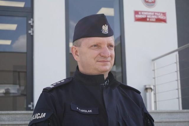 Inspektor Paweł Karolak, dotychczasowy szef łódzkiego garnizonu policji, zrezygnował z funkcji komendanta miejskiego w Łodzi.
