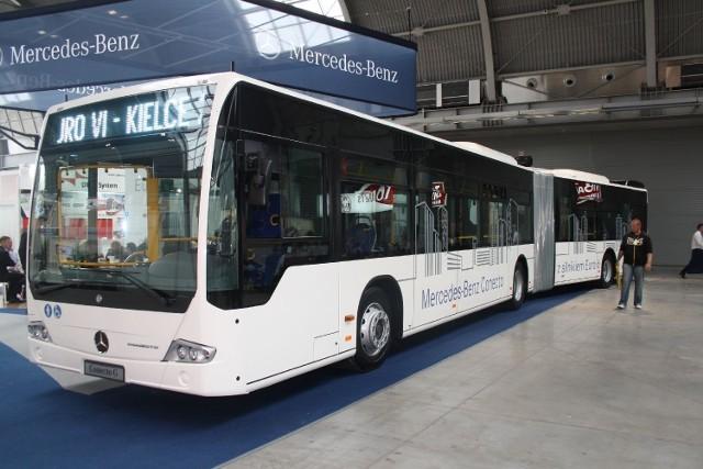 Mercedes Conecto Euro VI będzie testowany w Łodzi