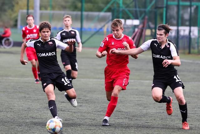 26.09.2020, Myślenice, mecz CLJ U-17 Wisła Kraków - Cracovia (1:0)