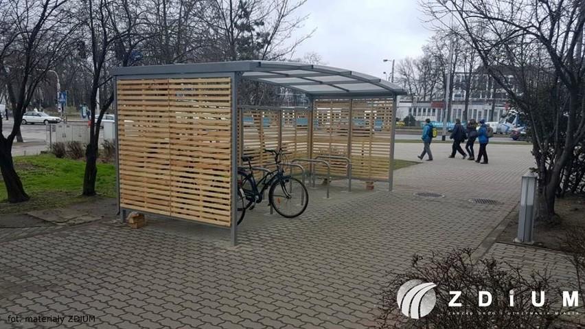 Nowe wiaty dla rowerów już w przyszłym tygodniu