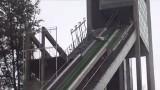 Wisła: Pod skoczkiem narciarskim złamała się belka i co z tego wynikło [WIDEO]