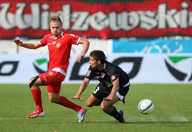 W ostatnim meczu z Jagiellonią gola dla Widzewa zdobył Aleksejs Visnakovs.